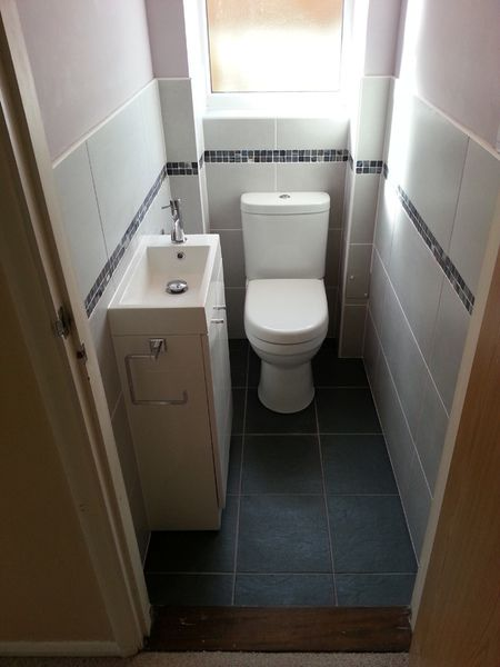 17 best images about cloakroom ideas on pinterest for Small loo ideas