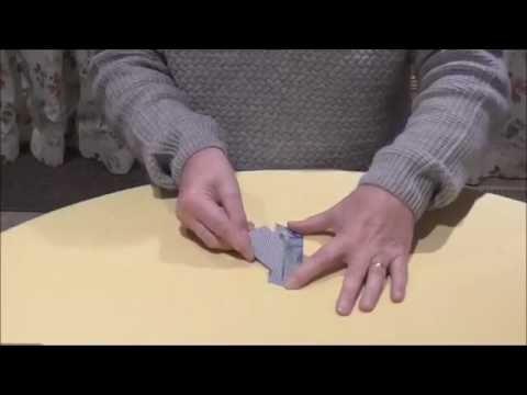 Card Through Banknote - Card Magic - Money Magic