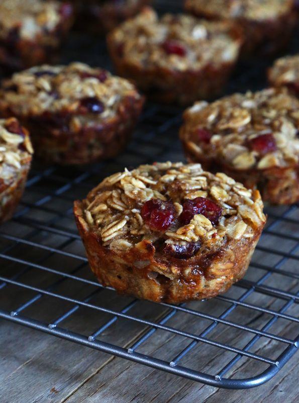 Easy Gluten Free Oatmeal Muffins
