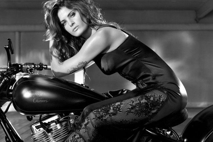 Изабели Фонтана в рекламе Redemption Choppers
