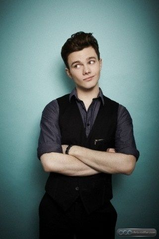 Darren Criss And Chris Colfer Photoshoot