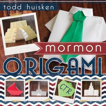 There are more things to make from Sunday meeting programs than airplanes and fortune tellers; now your kids can fold CTR shields, pioneer handcarts, or the Salt Lake Temple!