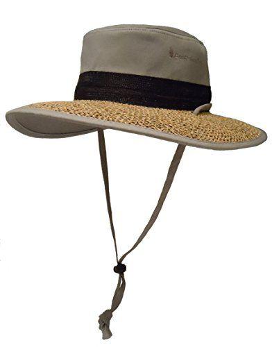 Best Sun Hat for Men & Women. Unique Papyrus Brim Bushwhacker