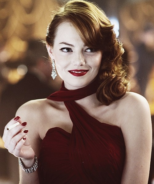 "Emma Stone in ""Gangster Squad"""