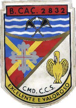 Companhia de Comando e Serviços do Batalhão de Caçadores 2832 Angola 1968/1970