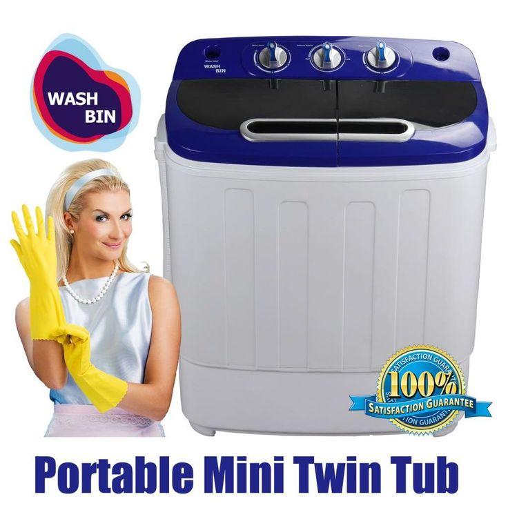 Portable Twin Camping Washing Machine Dryer 3.6KG | Buy Top Sellers  #camping #adventures #waterproof #washing #machine #Poratble #dryer #backpackers #hikers #Hiking