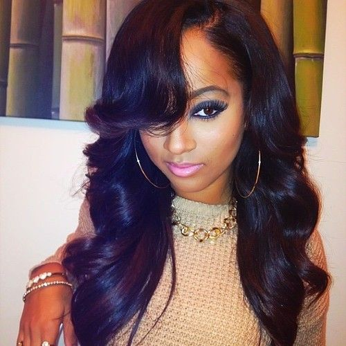 Long Hairstyles For Black Women 112 Best What Sewin Images On Pinterest  Hair Cut Hairdos And