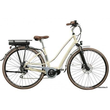 Le LUNAPIENA pour femme, est un vélo électrique équipé du moteur pédalier bafang maxdrive Avec sa batterie Ansmann 36V 11.6Ah, vous pouvez rouler sans problème jusqu'à 100 kms.