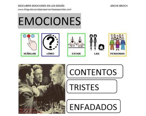 APRENDER ES DIVERTIDO: PICTOGRAMAS: DESCUBRIR EMOCIONES EN LOS DEMÁS (PDF)