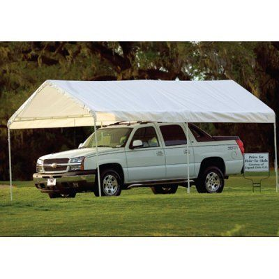 ShelterLogic 10 x 20 Canopy Replacement Cover by ShelterLogic Corp. $93.98. The Shelter Logic 10 x 20 Canopy Replacement Cover is a durable cover that will last for many years. Made of three-layer rip-stop polyethylene fabric this cover has a full valance and heat-welded seams. Replacing worn 10 x 20-foot covers on 1.375-inch frames this cover is available in white.