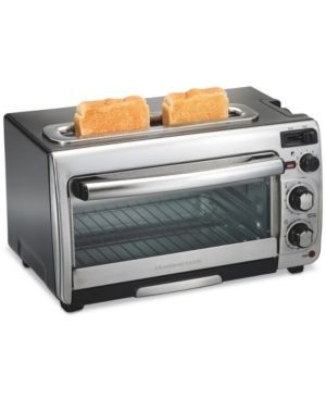 Hamilton Beach 2-in-1 Oven and Toaster - Silver
