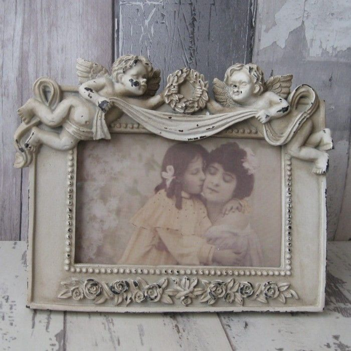 Victorian Angel Rectangular  Photo Frame
