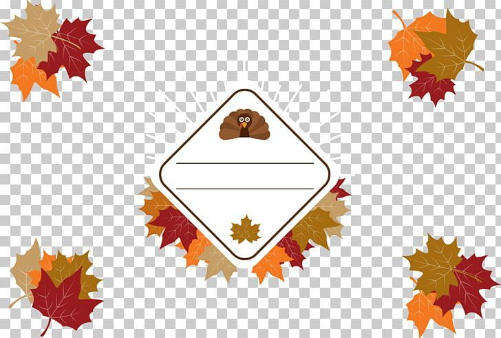 Thanksgiving Maple Leaf Png Border Border Frame Border Vector Cartoon Certificate Border Thanksgiving Maple Leaves Maple Leaf Png