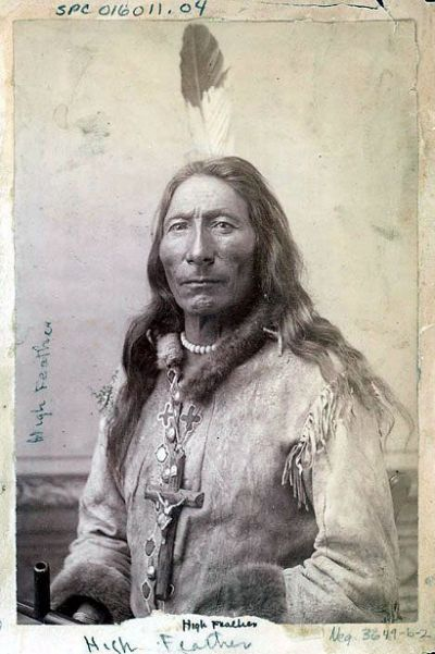 Lakota Blackfoot Sioux Elder |