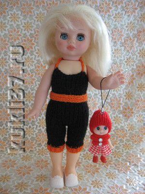 полукомбинезон для куклы