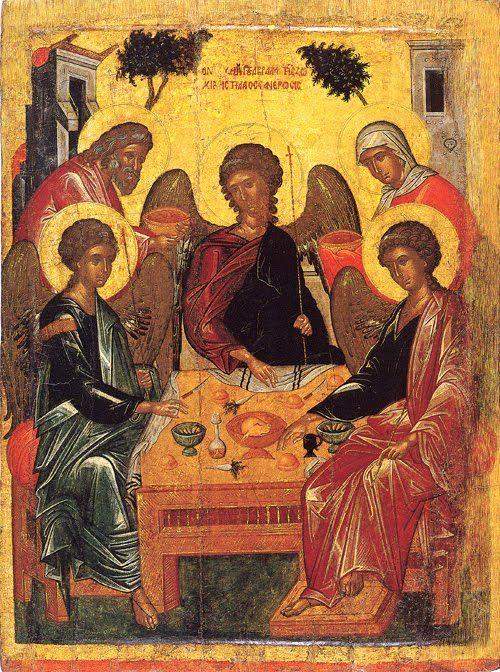 Για τον Κύριο Ιησού Χριστό, την ορθόδοξη Εκκλησία, και την Υπεραγία Θεοτόκο.