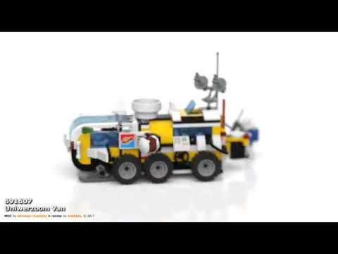 MOC 691907 Uniwerzoom Van (8 continuous Y-axis rotation loops)