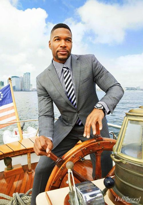 Michael Strahan for hollywoodreporter.com
