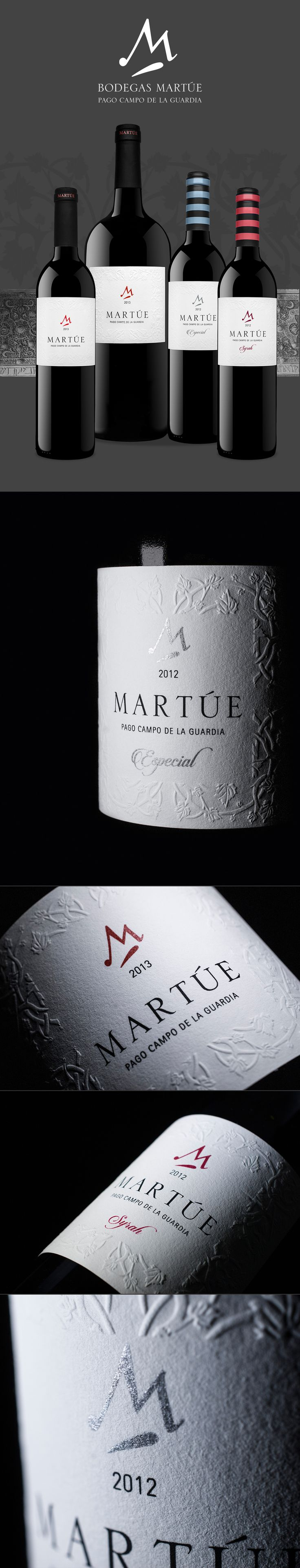 BODEGAS MARTÚE Pago Campo de la Guardia - Wine branding design - SPAINCREATIVE