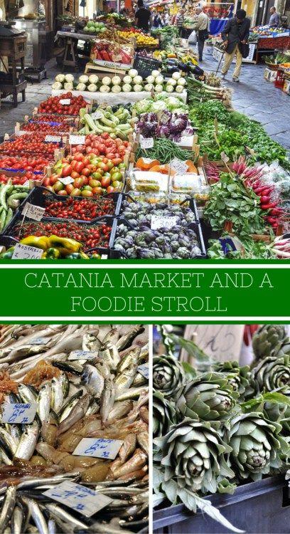 Catania Market and Pescheria, Sicily                              …