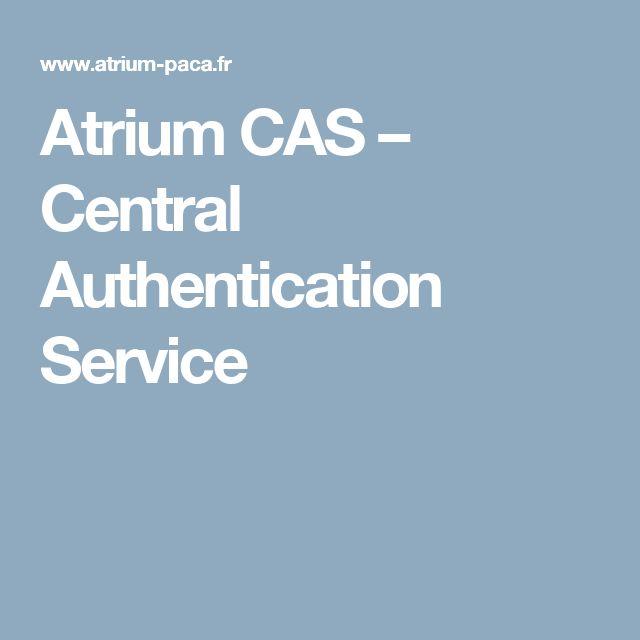 Atrium CAS – Central Authentication Service