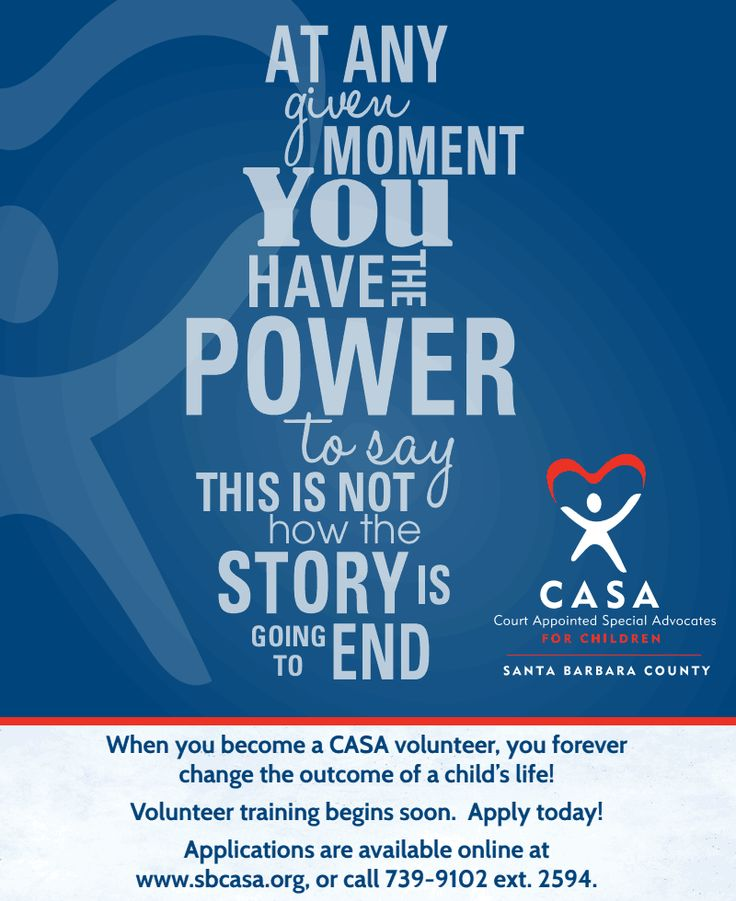 when you become a casa volunteer you forever change the outcome of a childus life