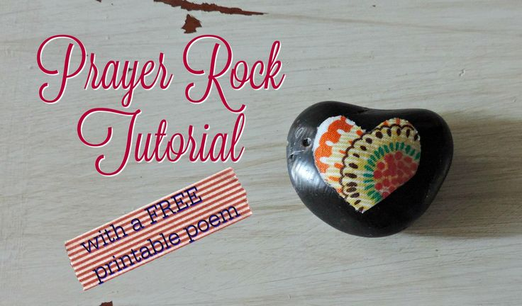 This is a photo of Handy Prayer Rock Poem Printable