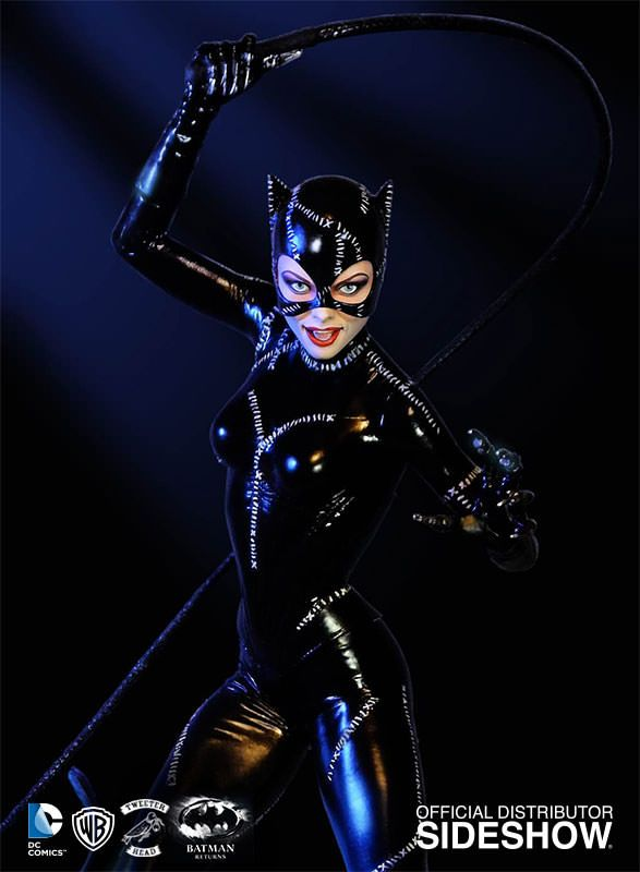 DC Comics Catwoman Maquette by Tweeterhead | Sideshow Collectibles