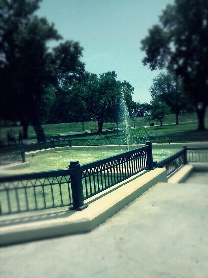 Fountain At Carey Park Hutchinson KS