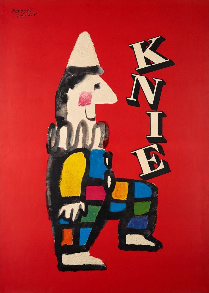 Knie, Cirque Knie, prix de l'affiche suisse Herbert LEUPIN (1956)