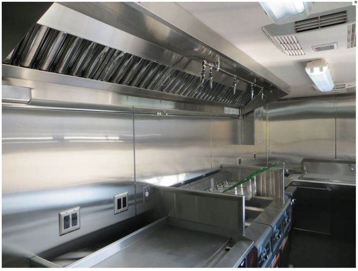 Restaurant Kitchen Ventilation show details for 6' compact concession hood system with exhaust