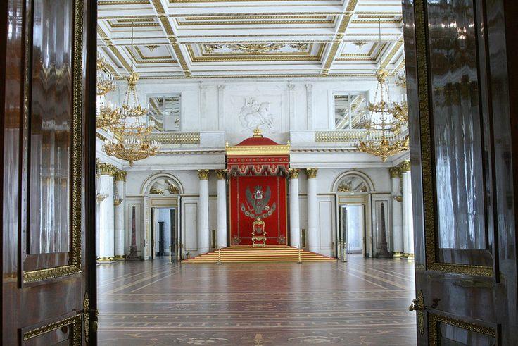 Эрмитаж, Георгиевский (Большой тронный) зал