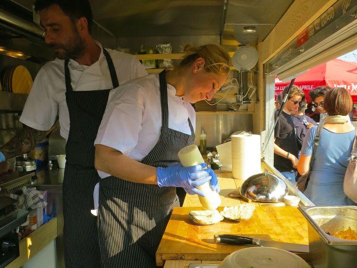 in Cucina Ordine!! il food truck che serve tartare di #angus è un esempio di #cucinaordinata