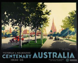 St. Kilda Rd www.printism.com.au #realartinprint