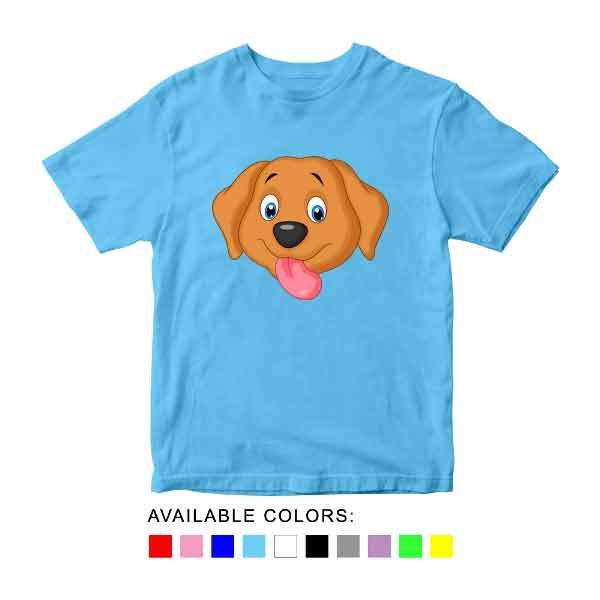 Kids T Shirts With Dog Picture