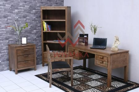 Wisanka home Office Collections. Detail of Toppe Home Office | Indonesia Contemporary Furniture