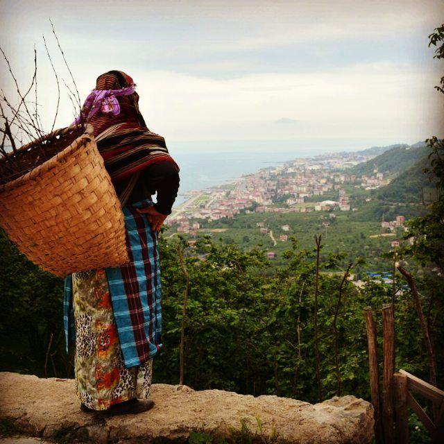 Karadeniz Kadını Arsin / Trabzon Fotoğrafı gönderen: Betül Arslan