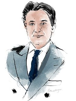 'It takes around 15 hours to make one bag, and that bag is almost entirely done by one pair of hands. Everyone knows which is his bag and they get attached to it: it's part of the magic.' Axel Dumas, chief executive of Hermès, on the craft of handbags, hostile takeover bids and protecting the family business in #LunchwiththeFT Illustration of Axel Dumas by Patrick Morgan