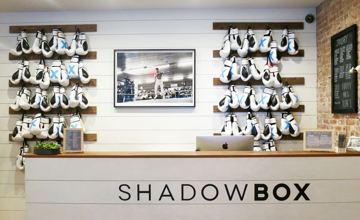 Shadowbox, a boutique boxing studio in New York City, pulls out all the design punches