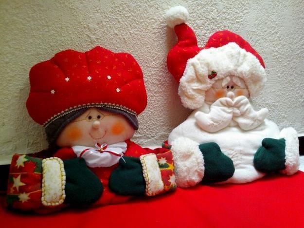 muñecos y adornos navideños