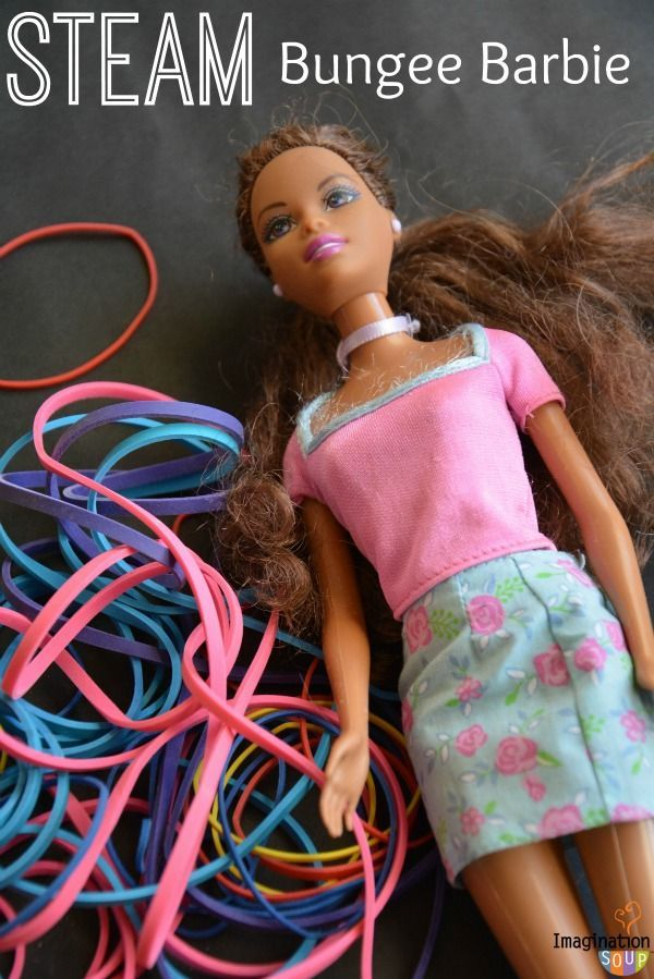 STEAM Education Activity: Bungee Barbie (physics, engineering, and math)