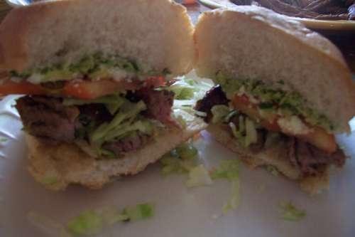 Carne Asada Torta...the ultimate Mexican sandwich :)