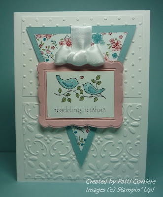 SweetCards Wedding'S Anniversaries, Scrapbooking Stamps, Crafts Ideas, Scrapbooking Cards, Triangles, Sweets Layout, Focal Point, Cards Embossing, Embossing Backgrounds