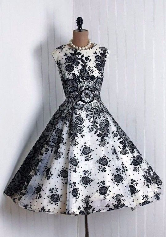 50 best Vestidos vintage images on Pinterest