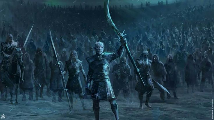 The Night's King and his army of White Walker