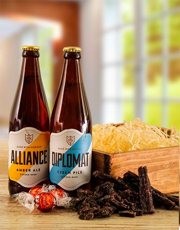 Buy Craft Beer Biltong and Chocolate Box Online - NetGifts