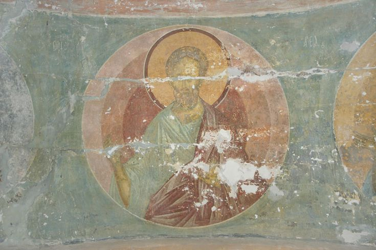 Музей фресок Дионисия - Купол, барабан и паруса - Праотец Енох