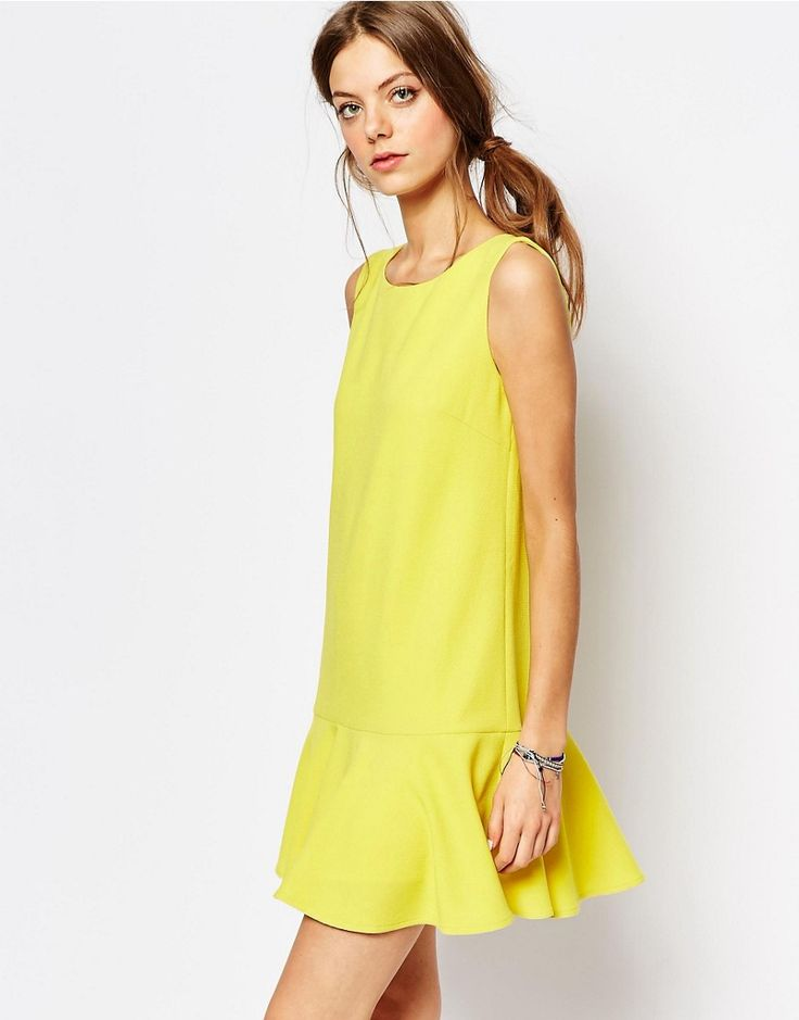 Gelbes kleid asos