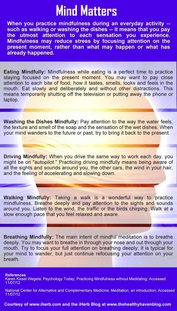 Mind Matters (Infographic)
