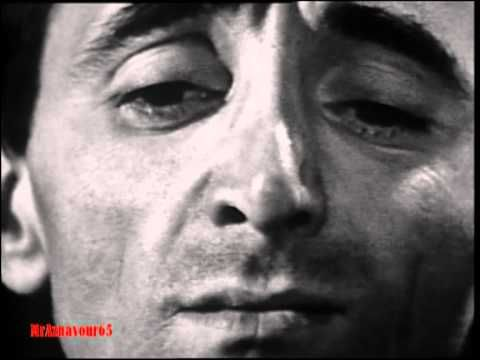 Charles Aznavour chante Je tattends 1963